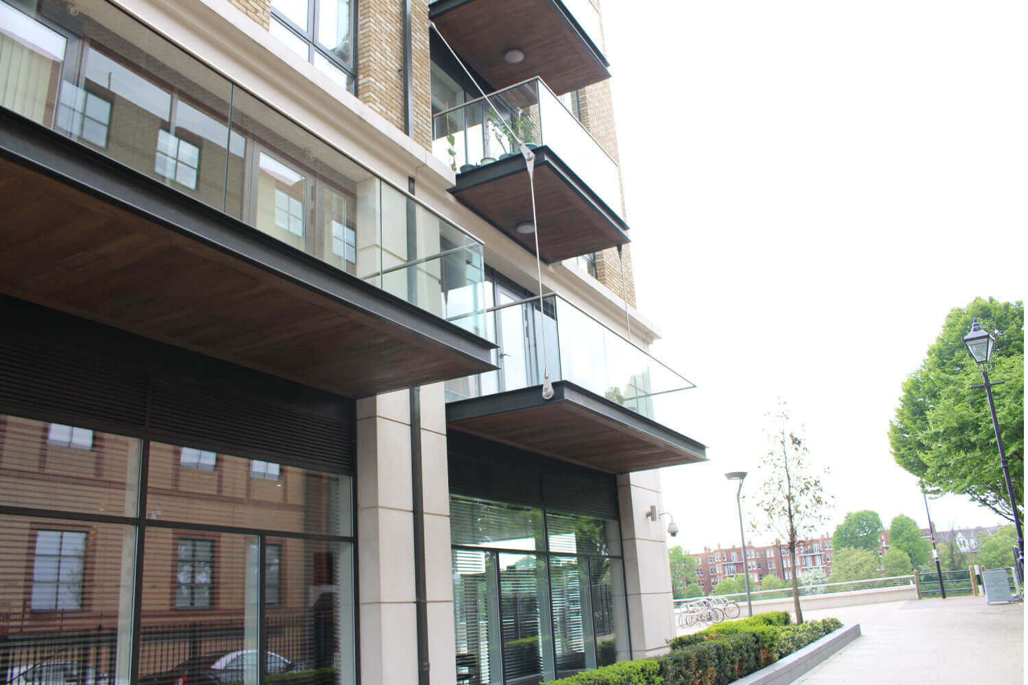 Fulham Reach commercial Glass Supplier London UK