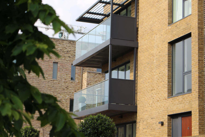 Kidbrooke Village commercial glass supplier London UK