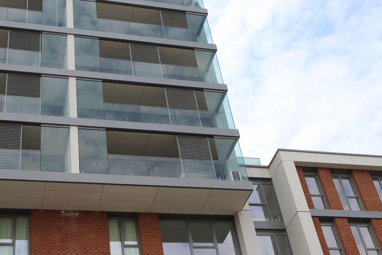 Tileman House London UK commercial glass