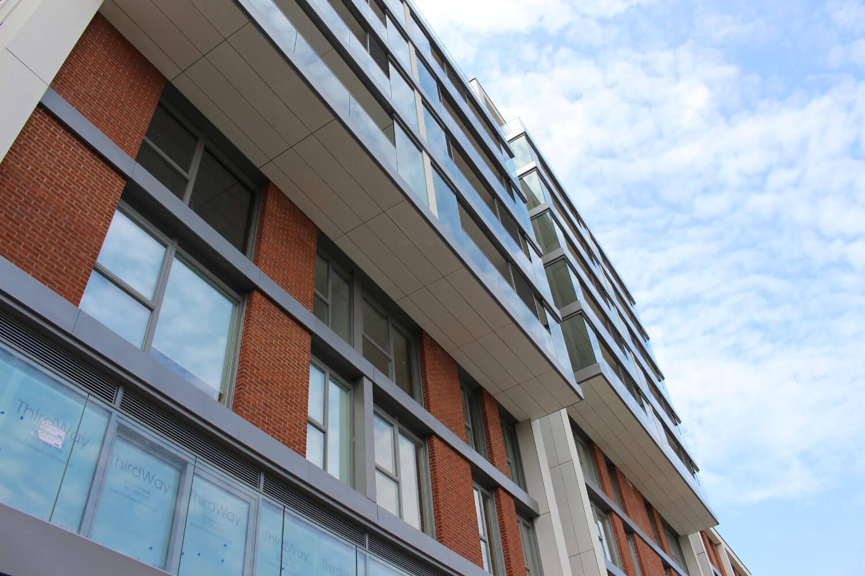 Tileman House commercial glass London UK