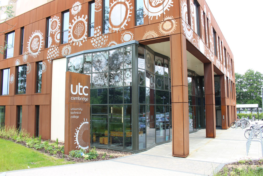 UTC cambridge commercial glass