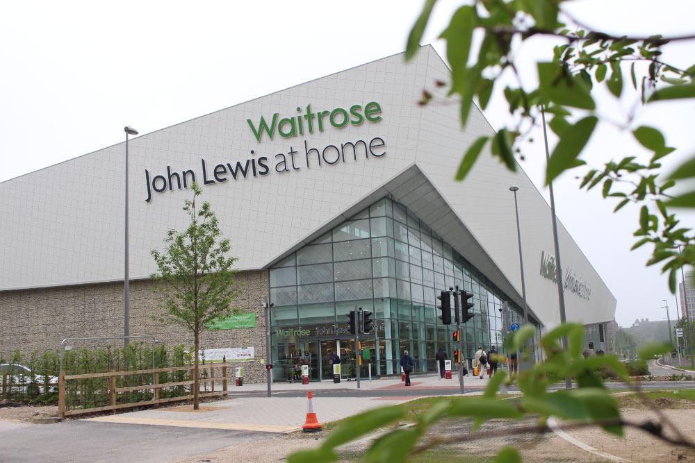 Waitrose commercial glass supplier